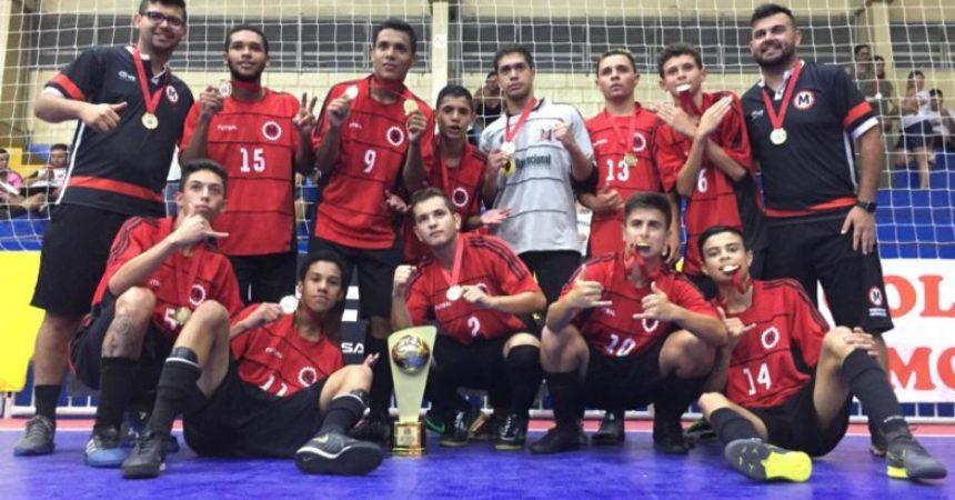 Futsal: equipes menores do Sindicato fizeram bonito no Campeonato da FPFS