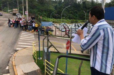 Sindicato realiza mobilização por PLR na Sulzer