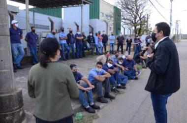 Brasimet: trabalhadores exigem diálogo com a empresa